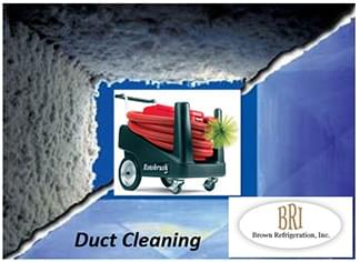 Rotobrush Duct Cleaning