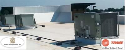 Trane Commercial Rooftop HVAC Installation